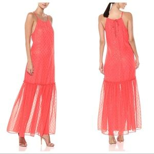 NWT Trina Turk Cloverdale Chiffon Maxi Dress Small